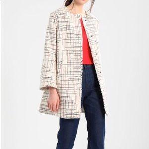 Banana Republic:Women's Coat Collarless Size M
